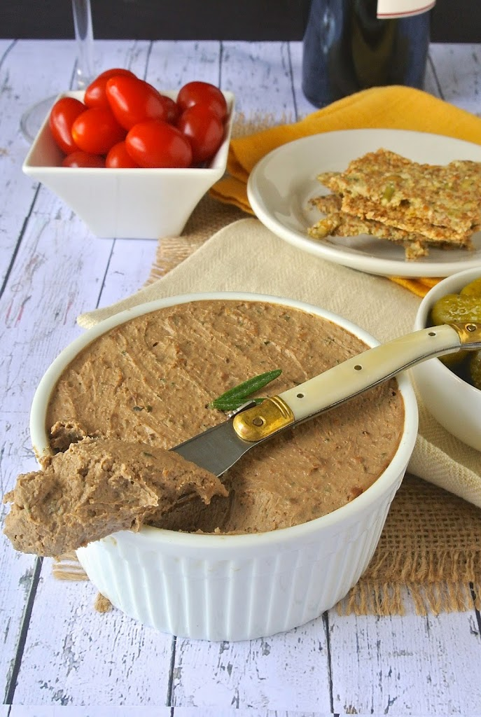 rosemary chicken pâté with bacon culinary