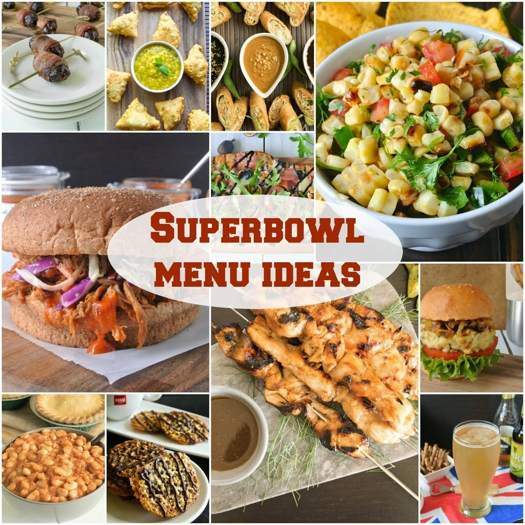 Superbowl menu ideas