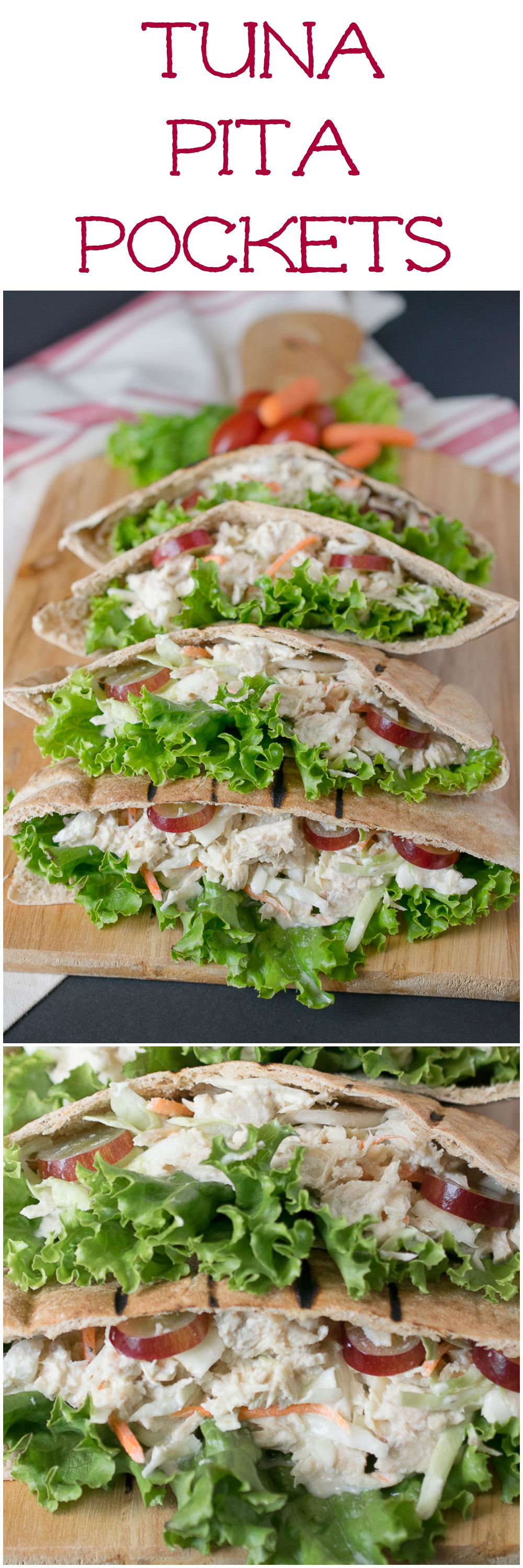 Tuna pita pockets-longpin