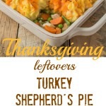 With Thanksgiving leftovers turkey shepherd's pie, you get the perfect bite in every bite because all the flavors are in 1 delicious layer.