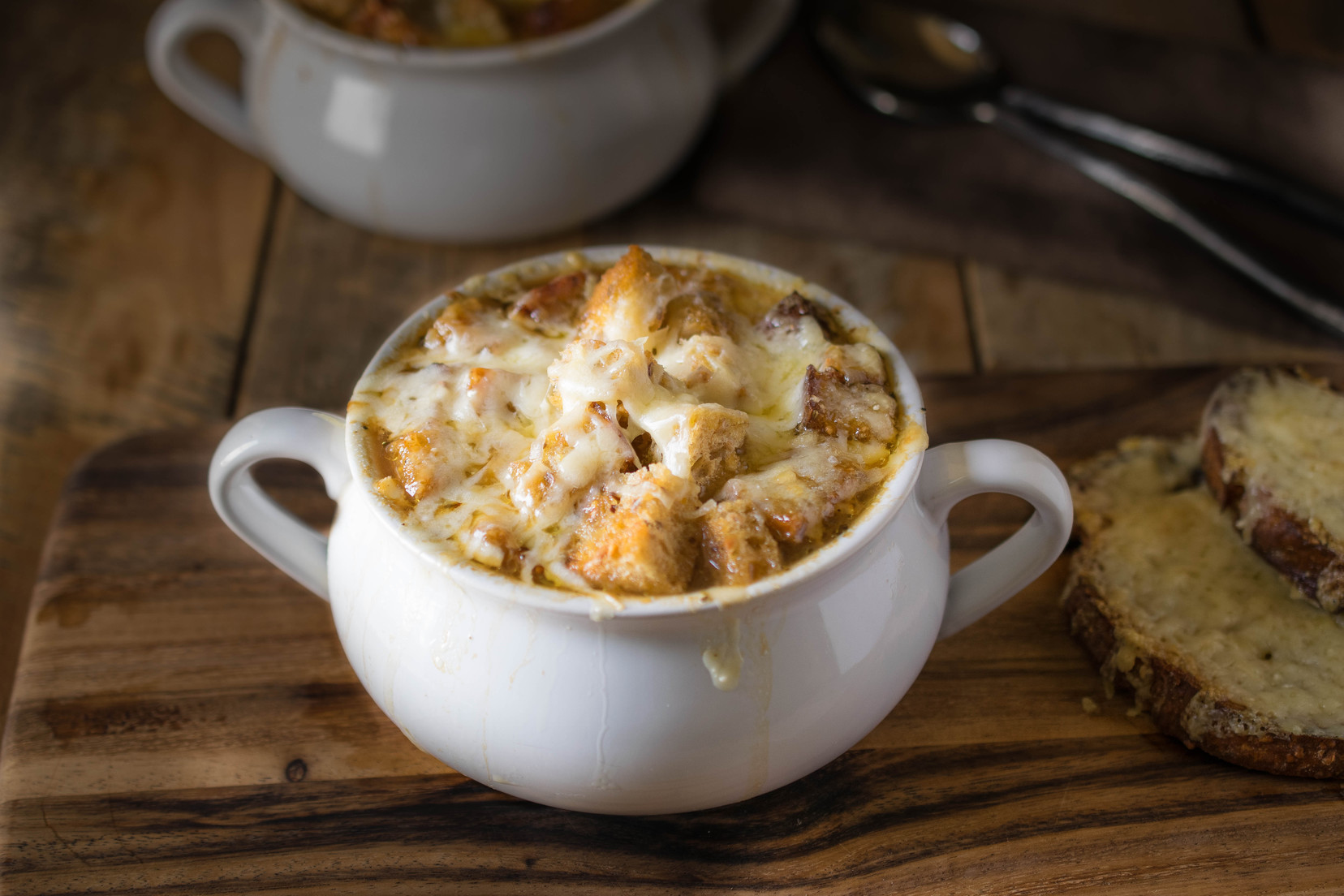 French onion soup - Culinary Ginger