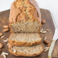 Almond banana bread