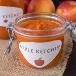 Apple ketchup