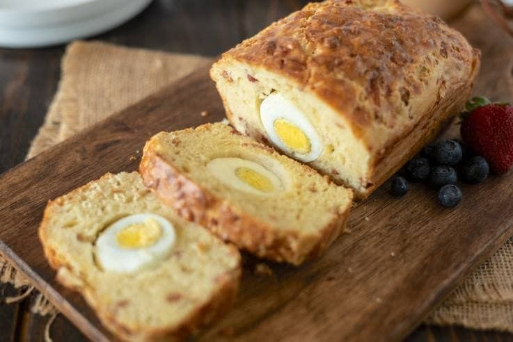 Bacon Egg & Cheese Breakfast Loaf