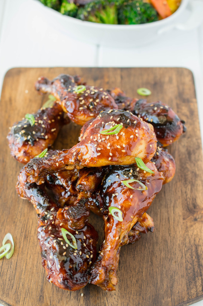 Baked Honey Soy Chicken Drumsticks Are Everything You Want In A Drumstick Bathed In A