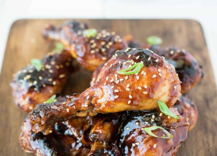 Baked Honey Soy Chicken Drumsticks