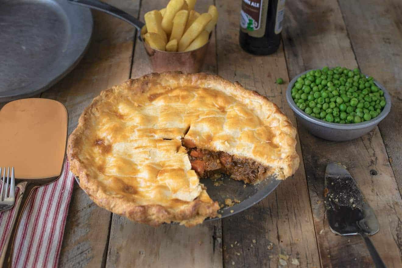 British Steak and Ale Pie