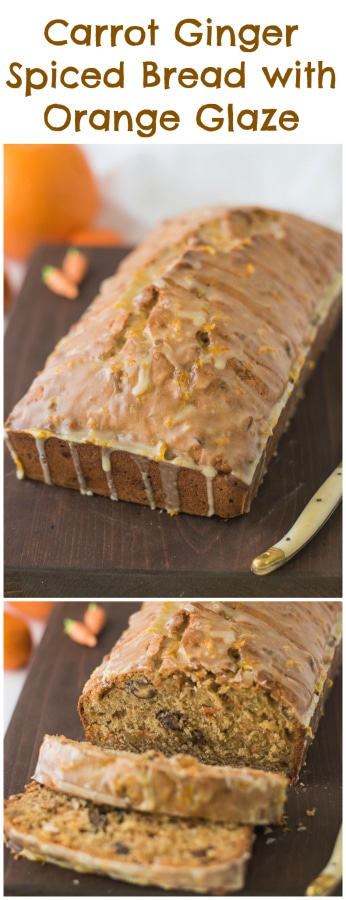 how to make carrot bread