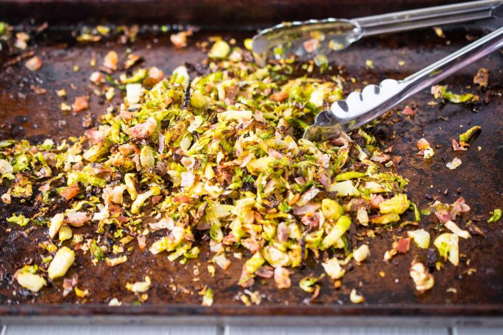 Crispy Brussels sprouts with pancetta is easy and delicious side dish. Shredded Brussels get a little Italian flair by roasting them with pancetta until perfectly crisp.