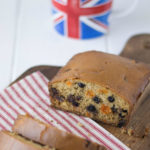 Fruity tea cake is the perfect accompaniment to a nice hot cup of tea. Dried fruit is soaked in tea with fresh orange zest then added to a simple cake batter and baked to perfection.