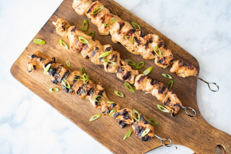 These grilled lemongrass chicken skewers are one of the easiest and most flavorful dishes you can grill up this summer. If you haven't cooked with lemongrass, you need to start with this easy recipe.