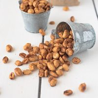 Mexican chile lime peanuts