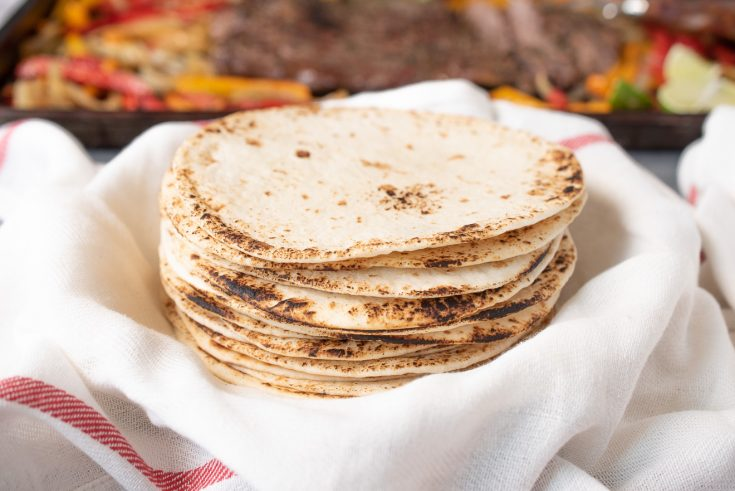 No Lard Flour Tortillas