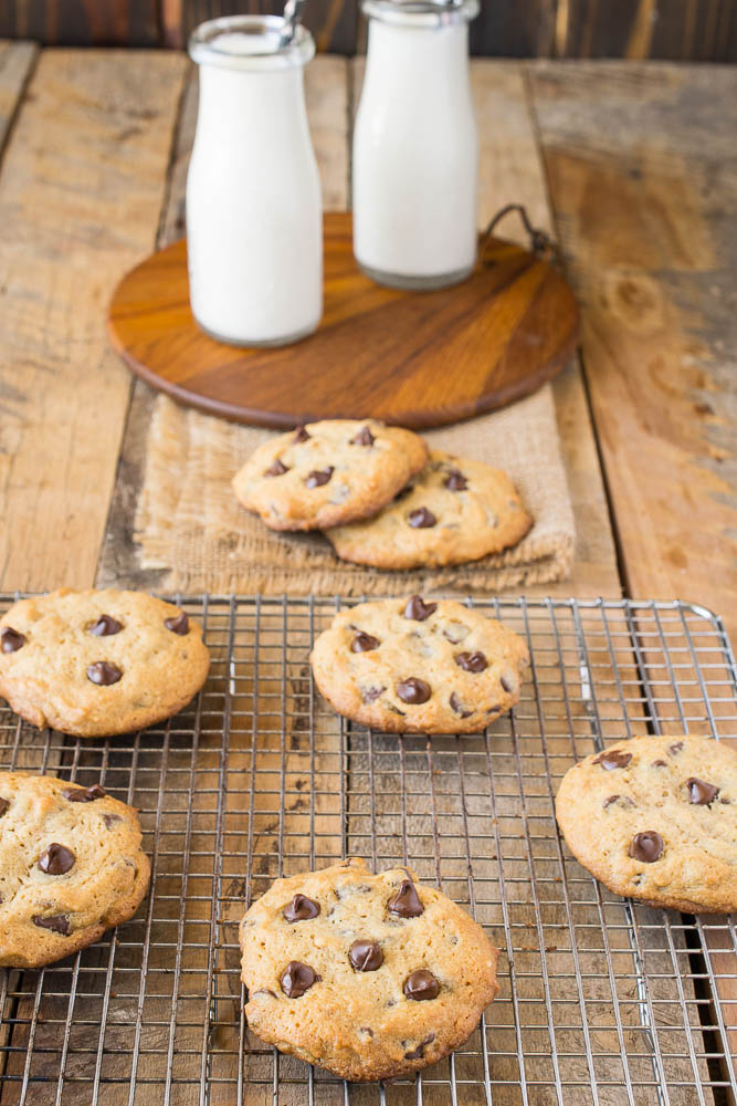 Peanut Butter Chocolate Chip Cookies {Culinary Ginger}