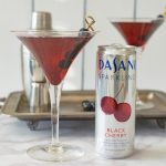 A sparkling Manhattan skyline cocktail is inspired by the classic Manhattan with a special addition of Dasani®black cherry sparkling. A delicious and refreshing drink for any time of the year and any occasion.