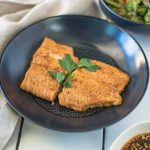 Teriyaki sesame salmon with roasted vegetables is a quick and easy lunch or dinner that will certainly satisfy an Asian food craving. Teriyaki salmon is baked right from the freezer along with a delicious mix of vegetables that are roasted and tossed in an Asian dressing.