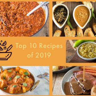 A collage of the top 10 recipes
